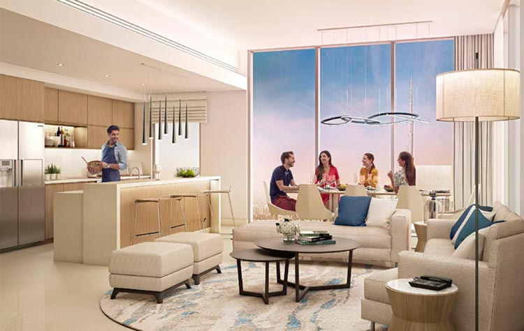 Dubai Properties Riverside Apartments